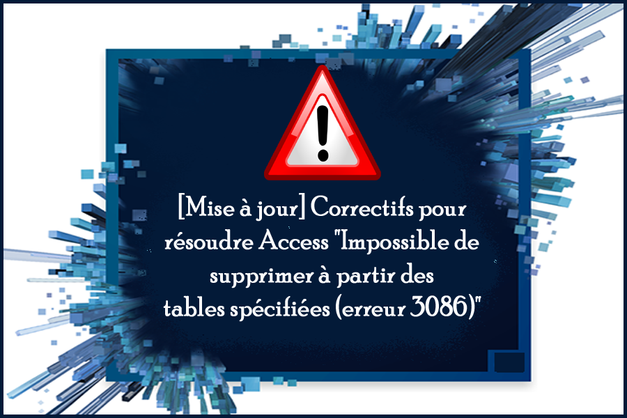 correction-ms-access-3086-erreur